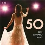Image of 50 Best Soprano Arias (Music CD)