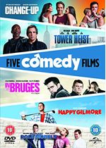 The Change-Up/ Tower Heist/ Happy Gilmore/ In Bruges/ Role Models 8305812