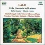 Image of Lalo: Cello Concerto; Cello Sonata; Chants Russes for Cello & Piano