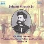 Image of Strauss II: 100 Most Famous Works, Volume 10