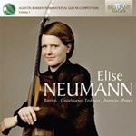 Agust?n Barrios International Guitar Competition, Vol. 1: Elise Neumann (Music CD)