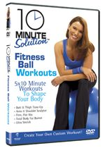 Image of 10 Minute Solution - Fitness Ball Workouts