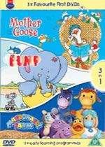 Image of 3 Favourite First - Mother Goose / Bump / MacDonalds Farm (Animated) (Three Discs)