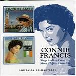 Image of Connie Francis - Sings Italian Favorites/More Italian Favorites [Remastered] (Music CD)