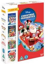 Disney Christmas Favourites 4DVD Box Set (Winnie The Pooh a very pooh year Countdown to Xmas Celebrate Xmas with Mickey Disney Xmas Favourites)