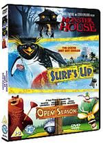 Click to view product details and reviews for Surfs up open season monster house.
