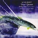 Franz Schubert  Trout Quintet String Trios (Leopold String Trio) (Music CD)