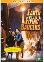 Earth vs the Flying Saucers DVD CDR11102