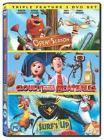 Click to view product details and reviews for Cloudy with a chance of meatballs open season surfs up.