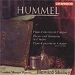 Hummel Piano Concertos Theme and Variations Op.97