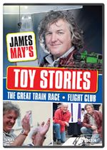 James Mays Toy Stories Balsa Wood GliderGreat Train Race