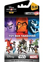 Disney Infinity 3.0  Toy Box Takeover (A Toy Box Expansion Game) (PS4PS3Xbox OneXbox 360)