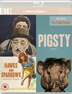 Hawks and Sparrows (1966) / Pigsty (1969) [Masters of Cinema]