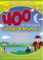Image of 400 Favourite Songs And Rhymes Bumper Collection
