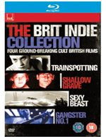 Brit Indie Collection (Trainspotting, Shallow Grave, Sexy Beast and Gangster No. 1) (Blu-Ray)