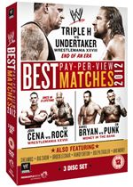 WWE: Best PPV Matches - 2012 (3 Discs) FHEDWWE006