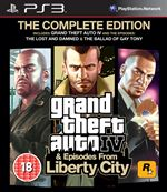 Grand Theft Auto IV & Episodes From Liberty City – The Complete Edition (PS3)
