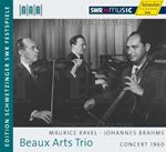 Image of Beaux Arts Trio: Concert 1960 - Maurice Ravel, Johannes Brahms (Music CD)