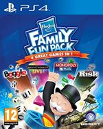 Image of Hasbro Family Fun Pack (Monopoly, Boggle, Trivial Pursuit and Risk) PS4 Game