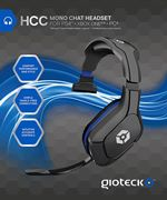 Hcc Wired Mono Headset Ps4 Sony Psp Pc Dvd Nintendo Wii Ds
