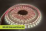 Image of Integral 5M Strip and Driver Kit IP67 LED Strip 4000K 6W per metre 40W (12V) IP20 LED driver included