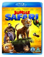 Jungle Safari 3D (3D Blu Ray  Blu Ray)