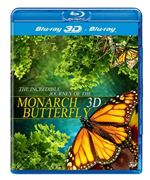 The Incredible Journey of the Monarch Butterfly 3D (Blu-ray 3D + Blu-Ray)