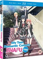 My Teen Romantic Comedy SNAFU Too! (Episodes 1-13) Blu-ray/DVD Combo MANB8742