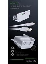Gioteck BPX S Rechargeable High Capacity Battery Pack (White) (Xbox One S)