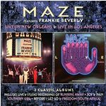 Image of Frankie Beverly - Live in New Orleans/Live in Los Angeles (Live Recording) (Music CD)