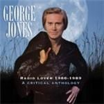 George Jones - Radio Lover 1980-1989 (A Critical Anthology) cover
