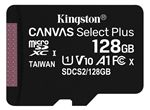 Image of Kingston Canvas Select Plus 128GB microSDHC Card (card only)