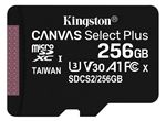 Image of Kingston Canvas Select Plus 256GB microSDXC Card (card only)