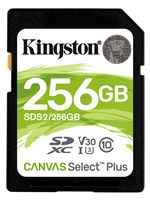 Image of Kingston Canvas Select Plus 256GB SDXC SD Card