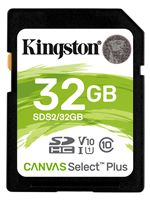 Image of Kingston Canvas Select Plus 32GB SDHC SD Card