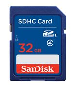 Image of SanDisk 32GB SDHC Card