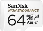 Image of SanDisk 64GB High Endurance microSDXC Card