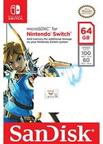 Sandisk 64GB Memory Card for Switch