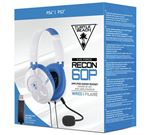 Turtle Beach Recon 60P Amplified Stereo Gaming Headset White (PS4 PS4 Pro Xbox One Xbox One)