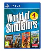 World Of Simulators - Forestry, Firefighters, Pro Farmer, Pro Construction (PS4)
