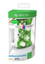 Rock Candy Wired PC & Xbox One Controller with Headset Jack  Aqualime