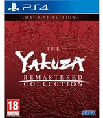 Yakuza Remastered Collection Ps4 Day One Edition