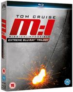 Mission: Impossible Extreme Trilogy (blu-ray)